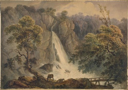 Richard Sasse (1774–1849), watercolour on paper, 1818